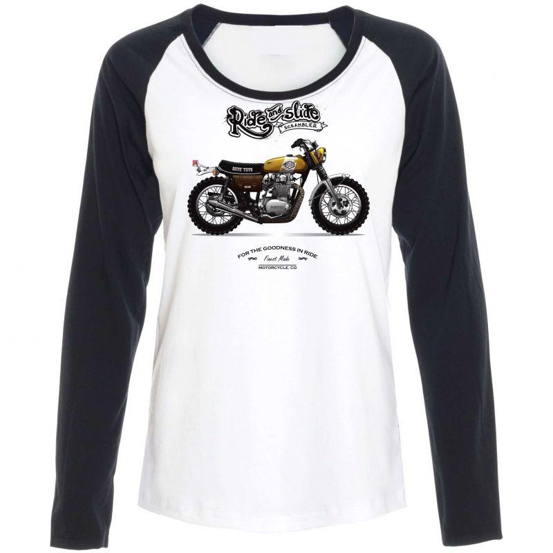 Pánské triko motorka vyrobeno v ČR