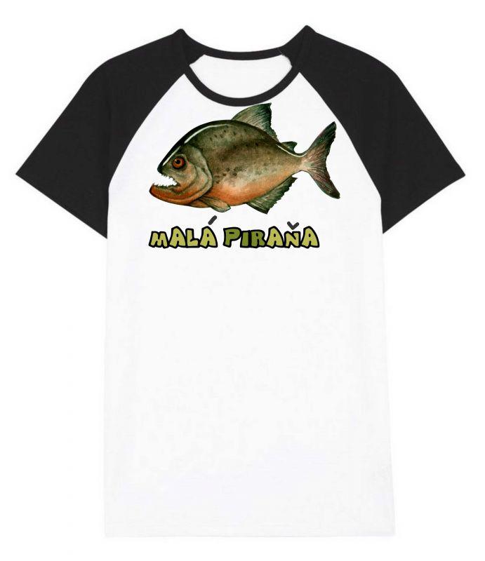 Pánské triko - malá piraňa vyrobeno v ČR