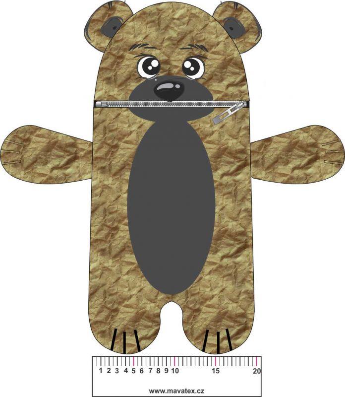 Pyžamožrout - medvěd vyrobeno v ČR