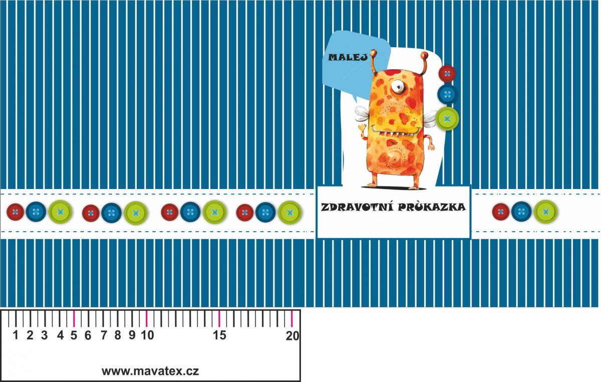 Obal na dětský očkovací průkaz- holčičí různé varianty!! vyrobeno v ČR