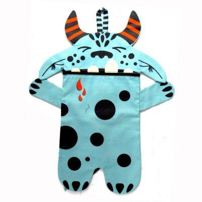 Pyžamožrout  - DRAK modrý-soft -hotový výrobek