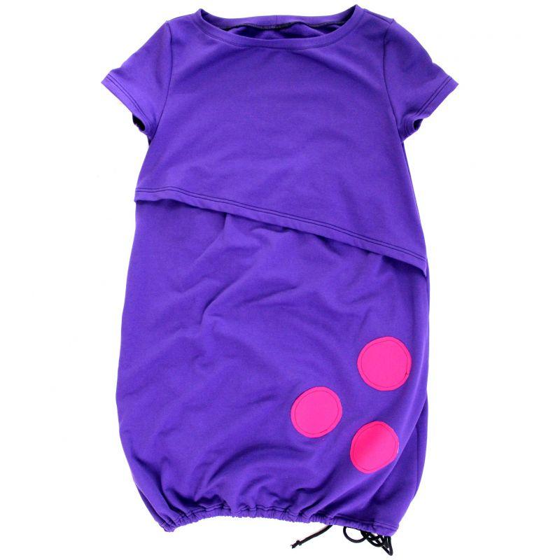 Kojící šaty balonové - UNI barvy na přání vyrobeno v ČR