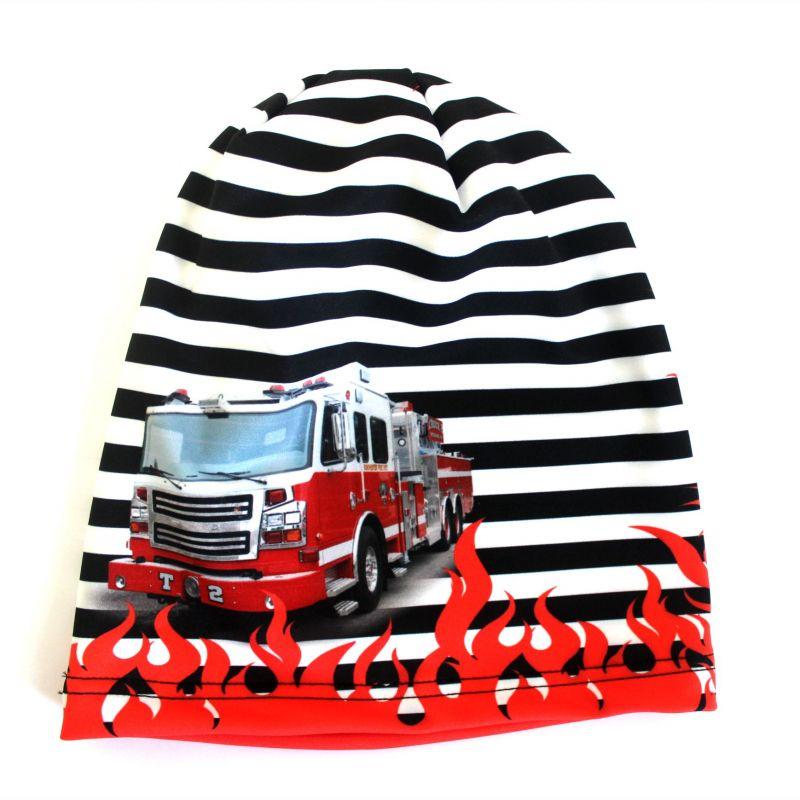 Čepice hasiči - smajlíci vyrobeno v ČR
