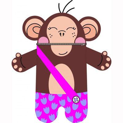Pyžamožrout  - OPICE holka-soft -hotový výrobek