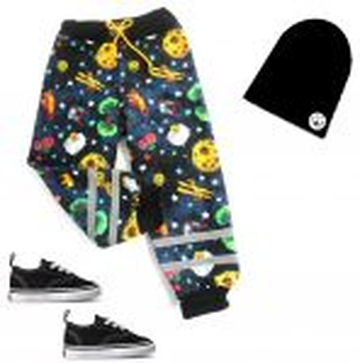 Softshellové kalhoty BASIC- malý princ