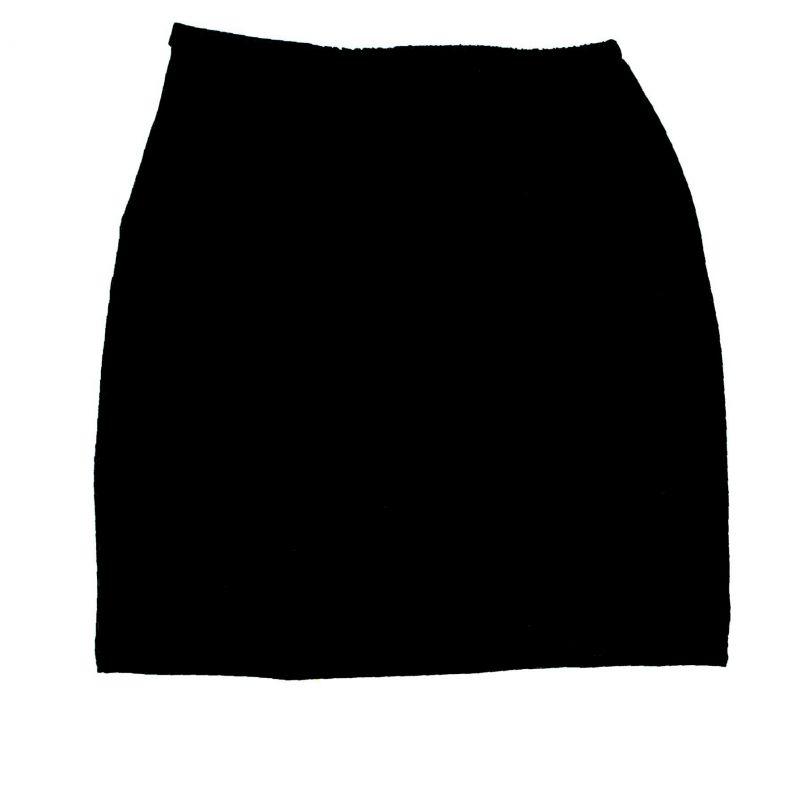 Sukně slim fit basic - UNI BARVY vyrobeno v ČR
