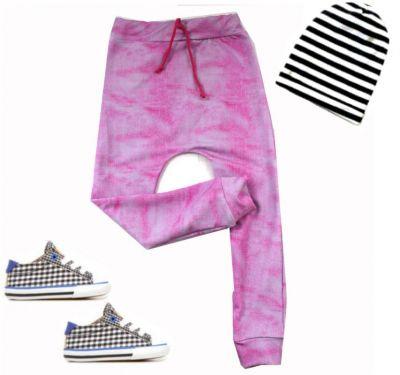 Turkáče BASIC- jeans růžová